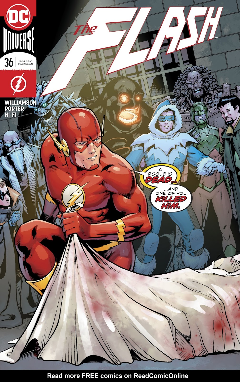 The Flash (2016) issue 36 - Page 1