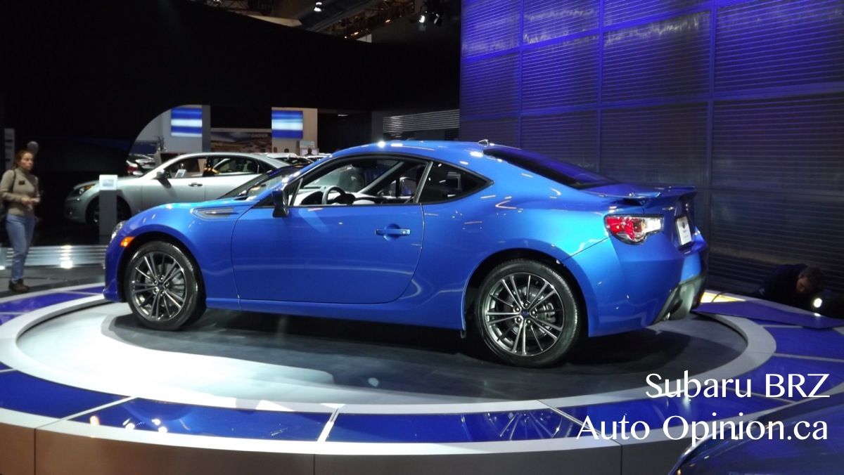 auto nouvelles la subaru brz meilleure voiture sport de 2013 selon. Black Bedroom Furniture Sets. Home Design Ideas