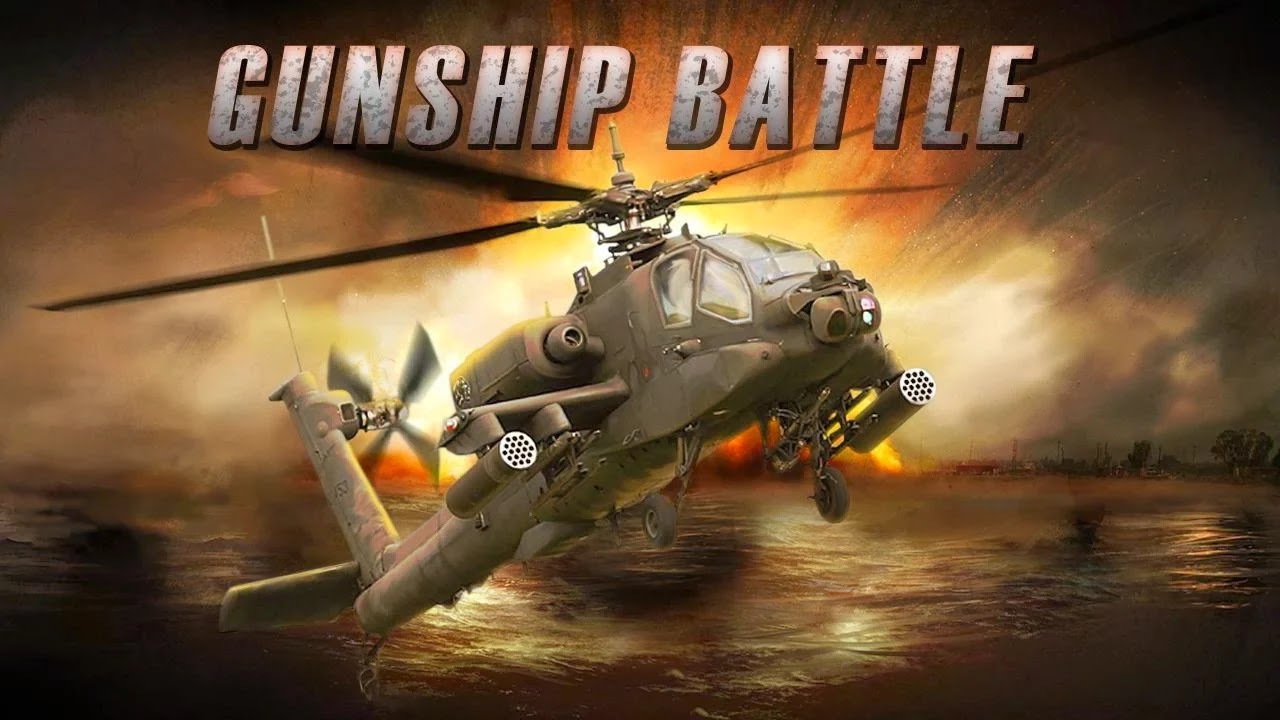 GUNSHIP BATTLE Helicopter 3D v1.1.1 MOD Apk