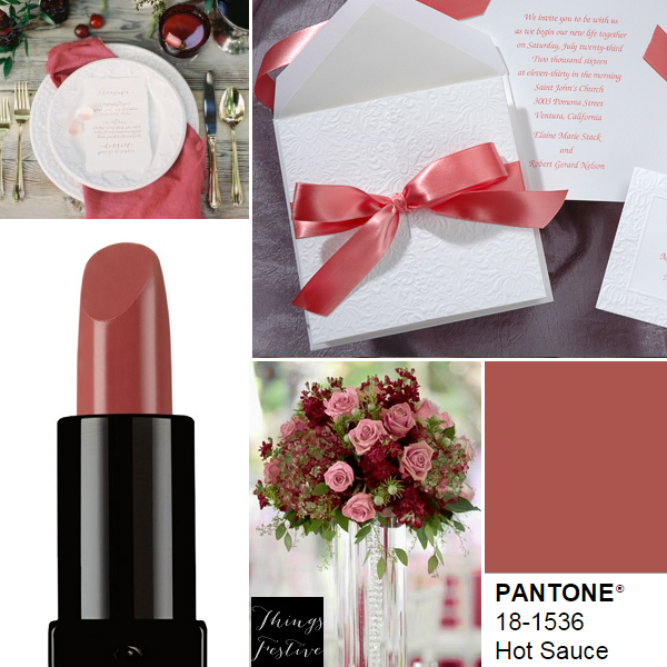 pantone wedding color inspiration