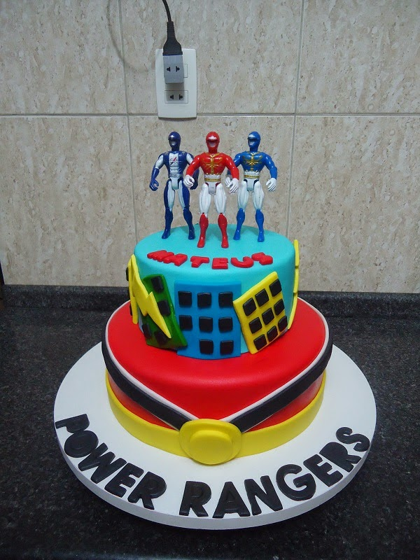 Red Ranger Cake