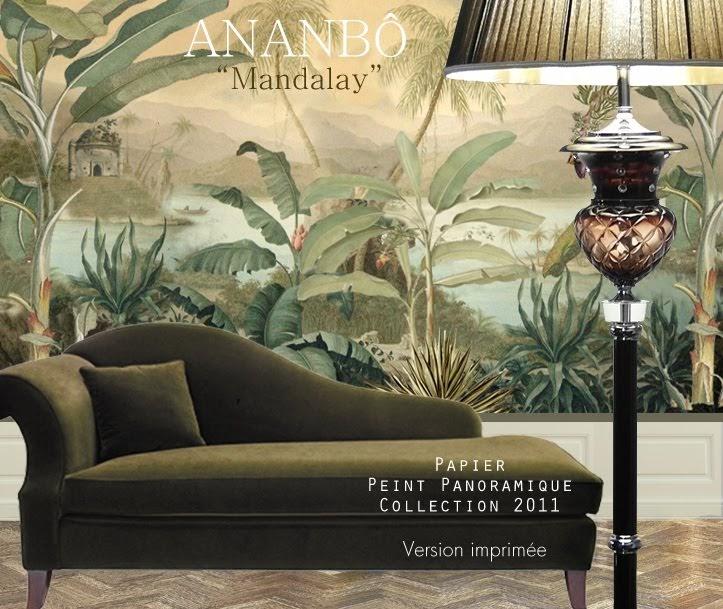 ananb 244 mandalay d 233 cor panoramique imprim 233 sur papier intiss 233 disponible en vente en ligne 224