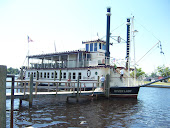 The Riverlady Paddle-wheel Boat.