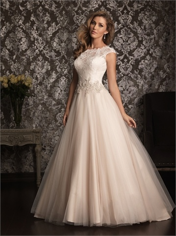 Cap Sleeves Wedding Dress: Ball Gown Wedding Dresses Never Fade Out ...