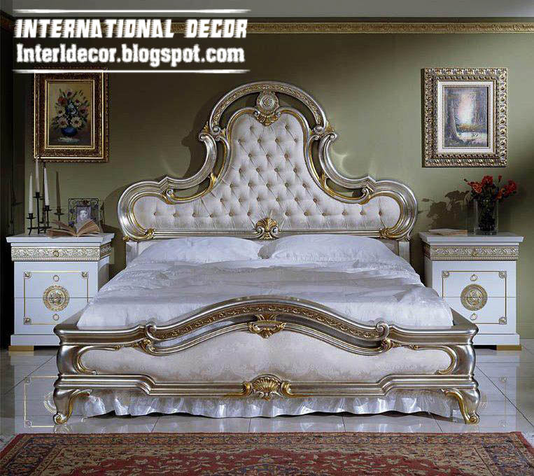 Luxury italy beds ancient italian beds furniture Italian designs