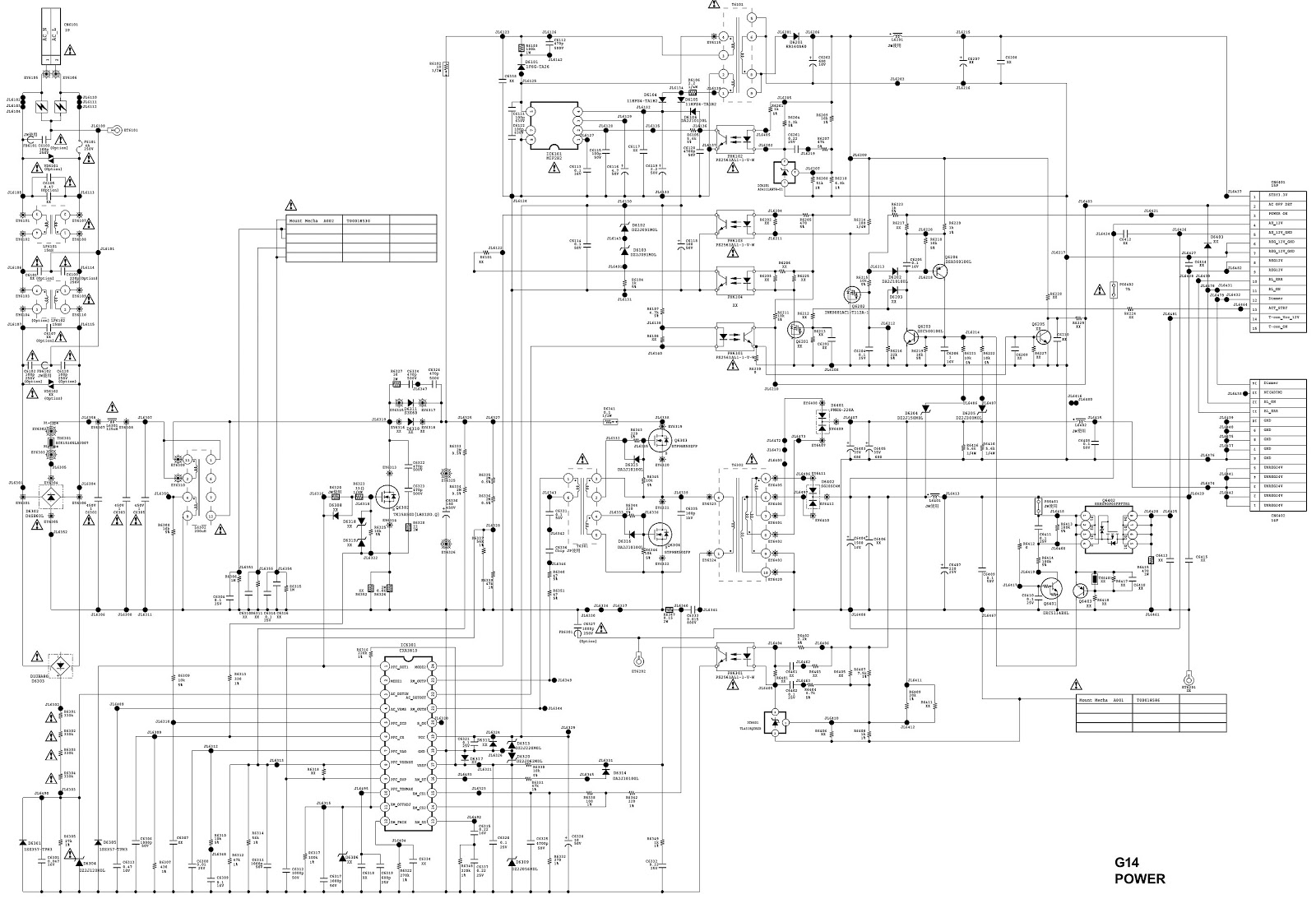 Sony Tv Wiring Diagram Trusted Diagrams Power Supply Ac Matic Using Pc8178 2sd2498 Bravia Circuit Block And Schematic U2022 Xplod Color Code Source