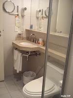 Banheiro Apartamento Park Inn Ibirapuera Devaneios de Biela