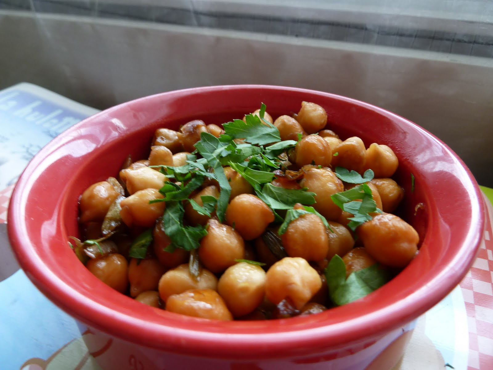 Do you speak vegan pois chiches caram lis s aux oignons - Cuisiner des pois chiches ...