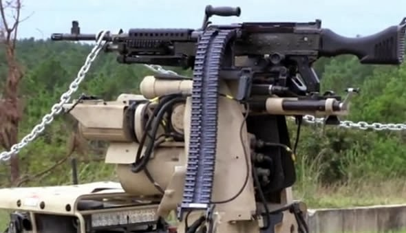 US Military Is Testing Ground Robot That Can Fire Machine Gun