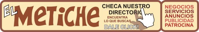 directorio de patrocinadores del Metiche