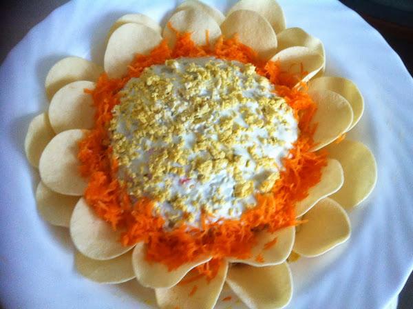 Ensaladilla flor cocinar en casa es for Cocinar ensaladilla rusa