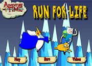 juegos de adventure time run for life
