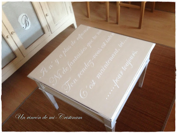Pintar mesa en blanco - Pintar madera blanco ...