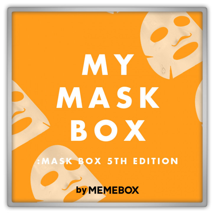 memebox Memebox Special #38 My Mask Box 미미박스 Commercial