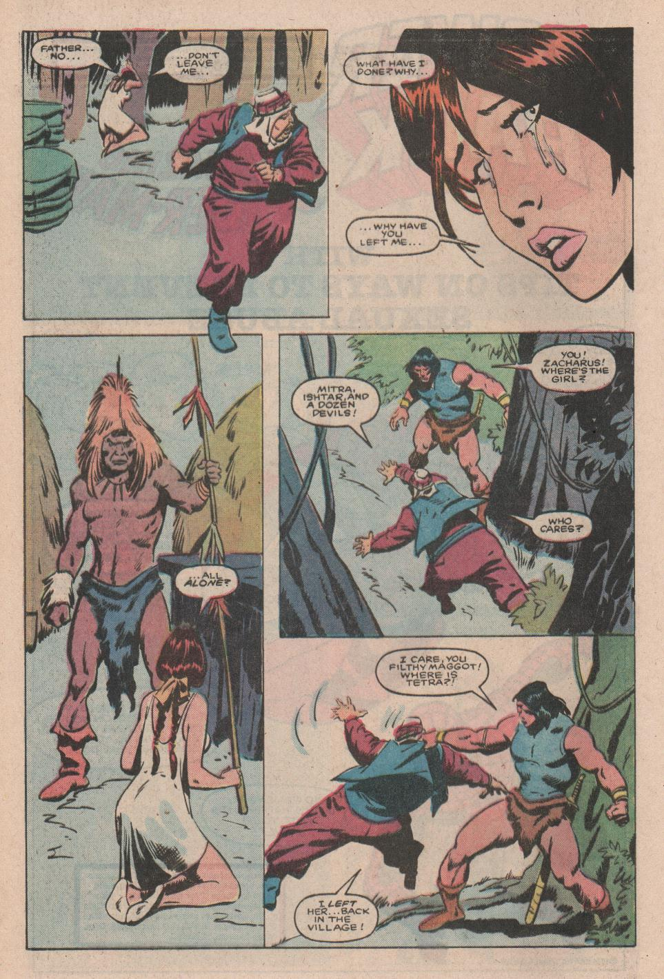 Conan the Barbarian (1970) Issue #172 #184 - English 18