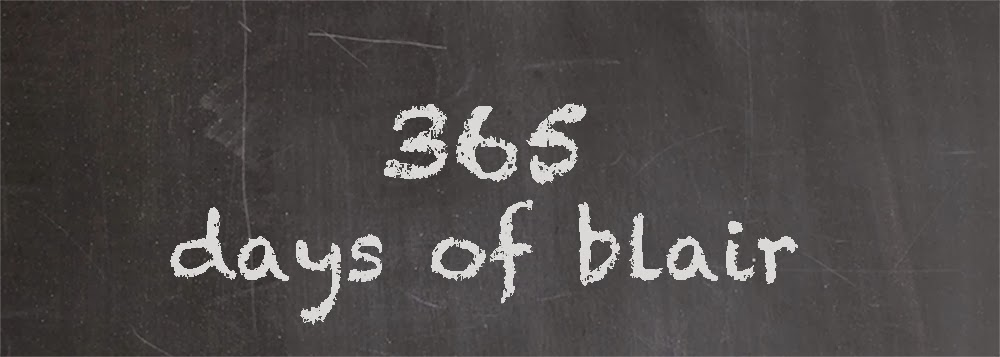 365 Days of Blair