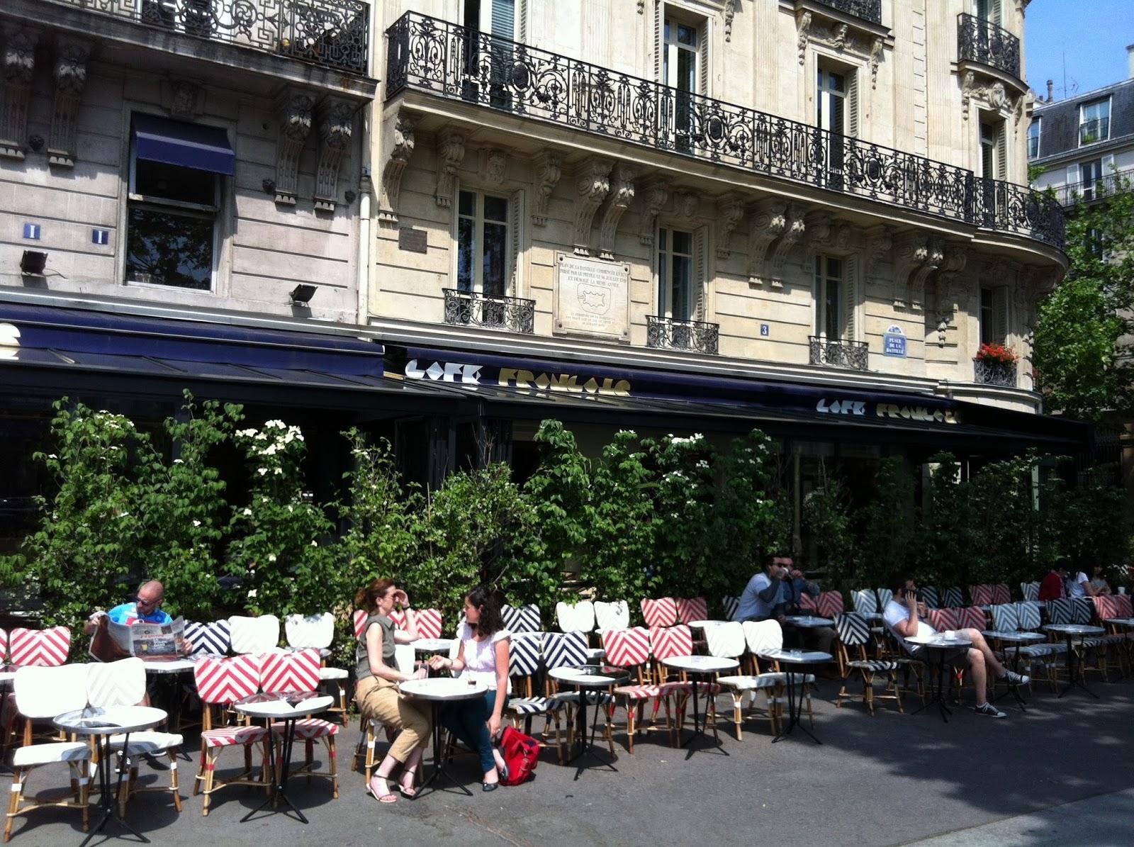 Le caf fran ais bastille for Restaurant bastille terrasse