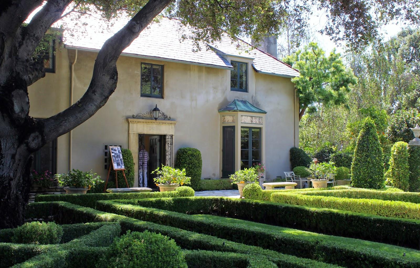 A Very Good Life 2015 Garden Conservancy Open Days Pasadena The Parterres