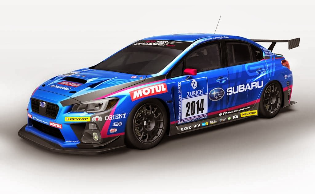 Even Before Its Unveil At The 2014 North American International Auto Show  (NAIAS), Subaru Has Revealed That Its All New Subaru WRX STI Is Going Racing .