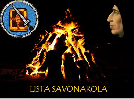 Lista Savonarola