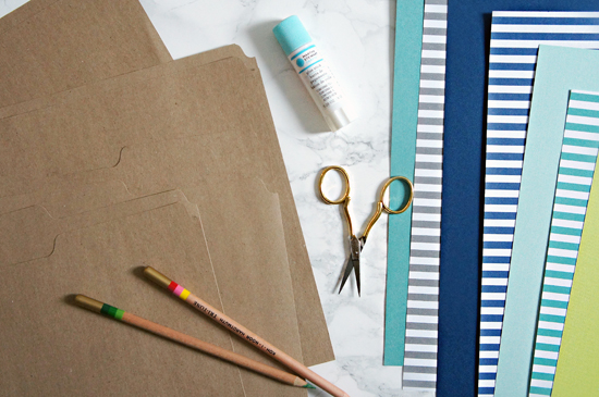 Iheart organizing quick tip tuesday diy wall pockets even if you dont have all of the materials on hand purchasing them should be fairly inexpensive solutioingenieria Image collections