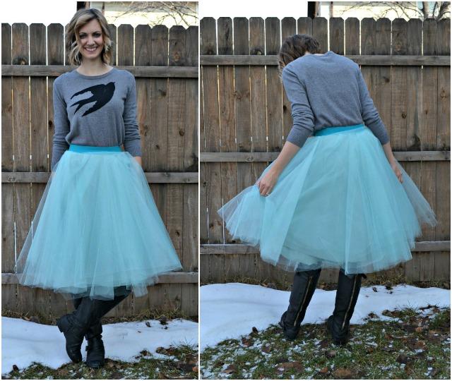 Wear tulle skirts if you feel like a princess