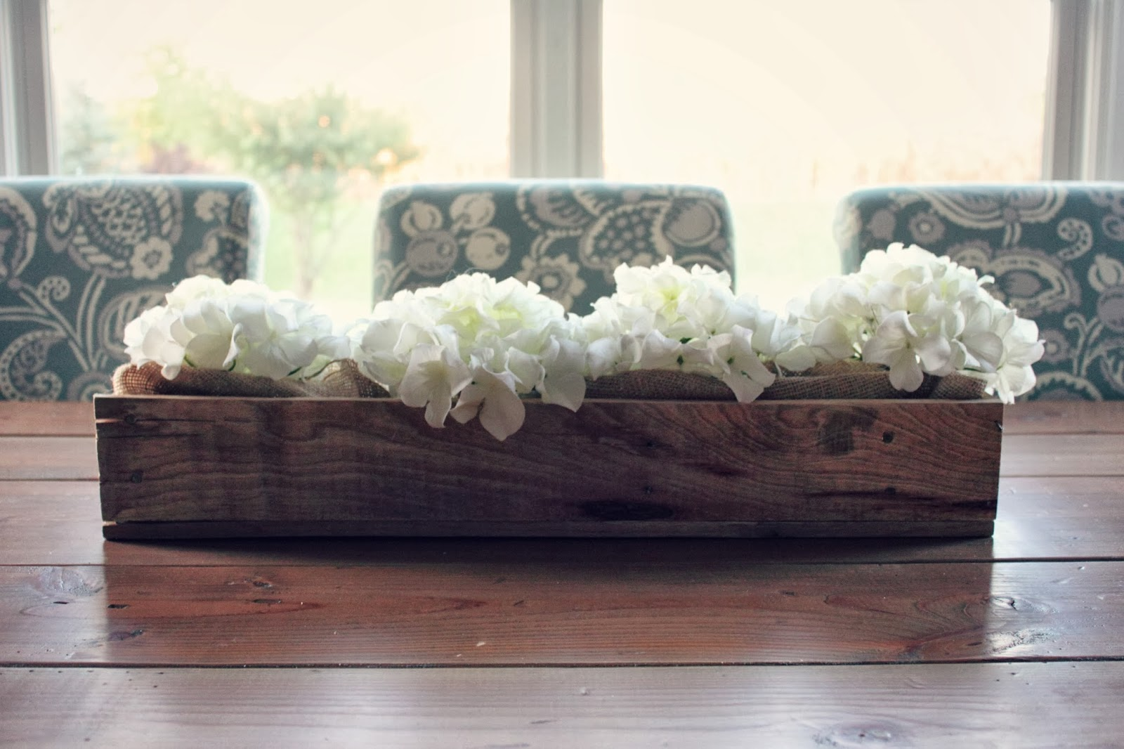 All things diy simple pallet wood centerpiece