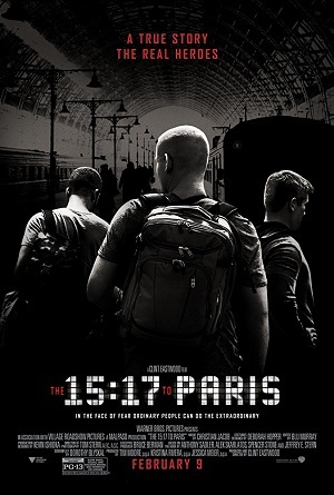 Torrent Filme 15:17 - Trem Para Paris 2018 Dublado 1080p 720p Bluray FullHD HD completo