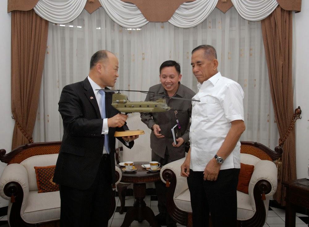 The Boeing Company Jajaki Kerjasama Helikopter Chinook dengan Indonesia