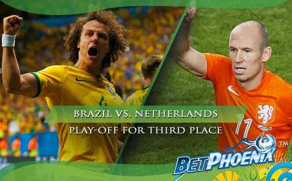 BRAZIL VS NETHERLANDS 2014 FIFA WORLD CUP FOR THIRD PLACE