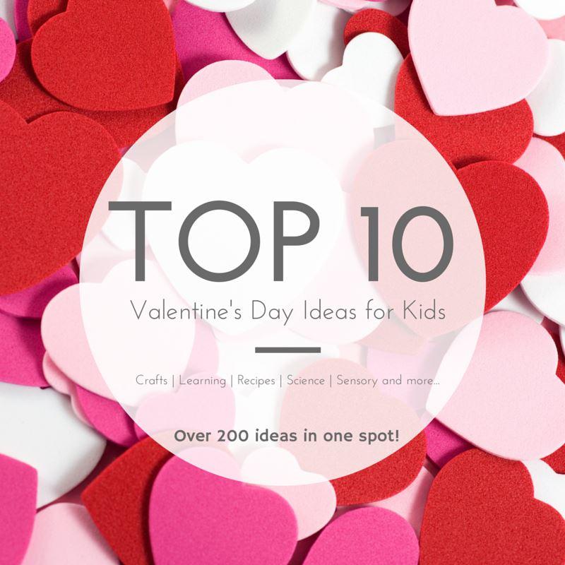 Top 10 Valentine\'s Day Sensory Bins | Still Playing School