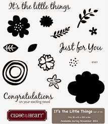 November 2014 Stamp of the Month~It's the Little Things