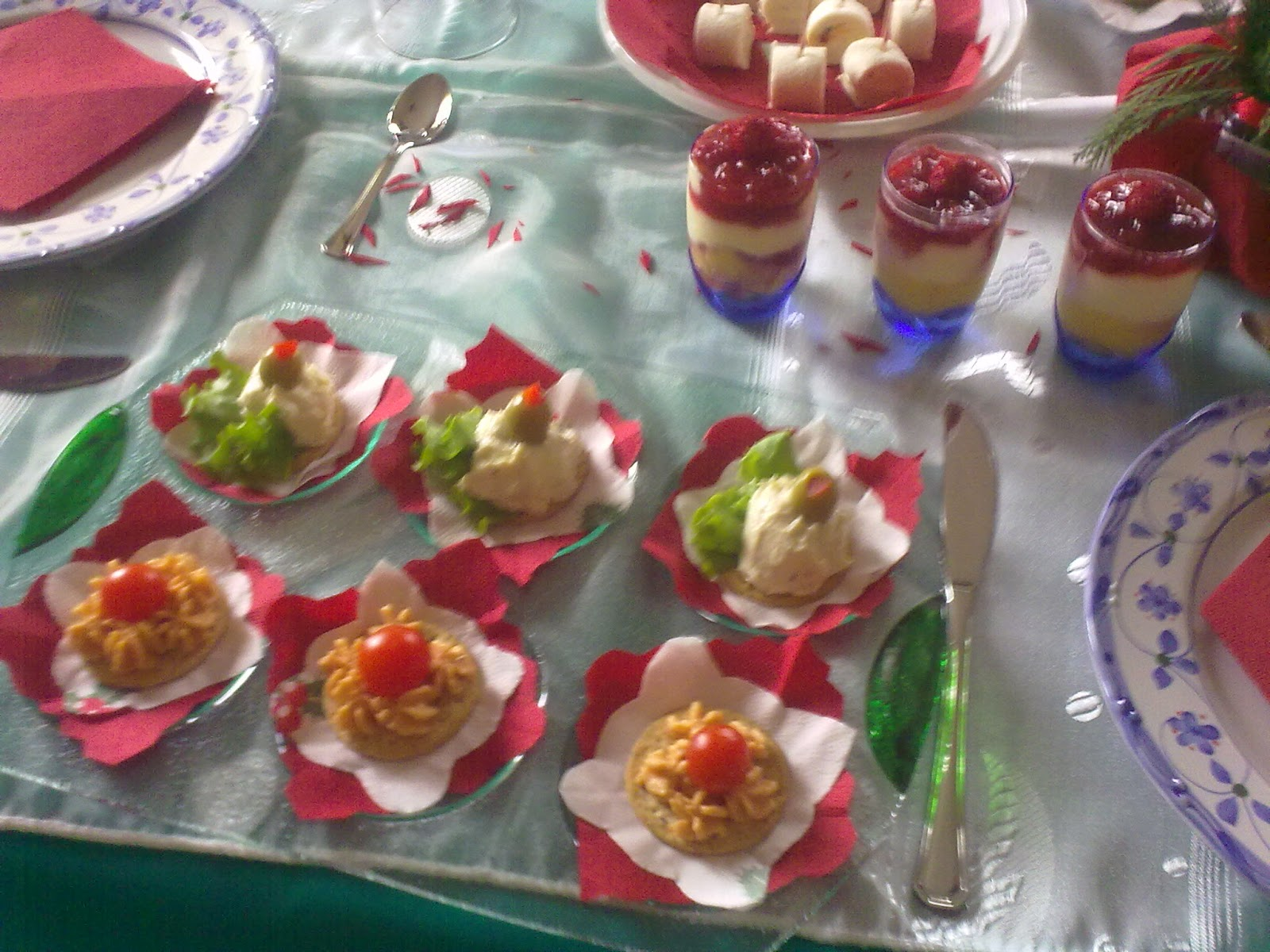 Sabores de mi casa picaderas bocadillos para fiesta - Comida cumpleanos adultos ...
