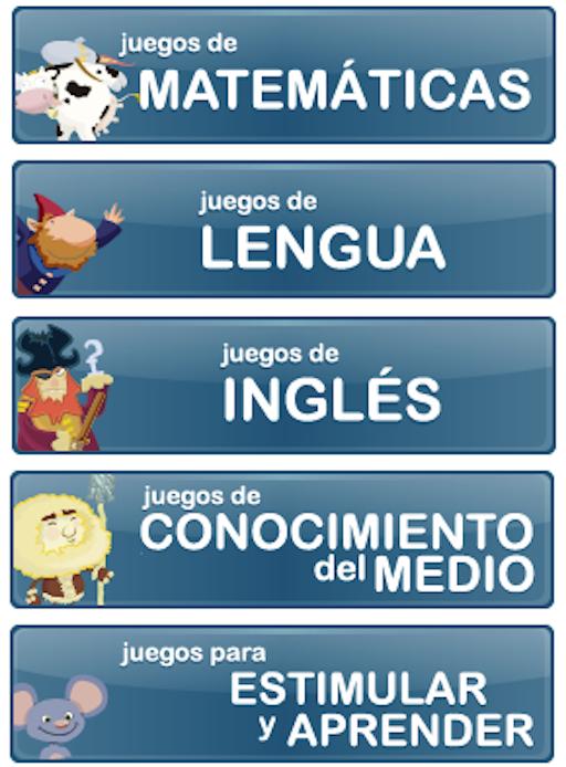 JUEGOS. MUNDO PRIMARIA