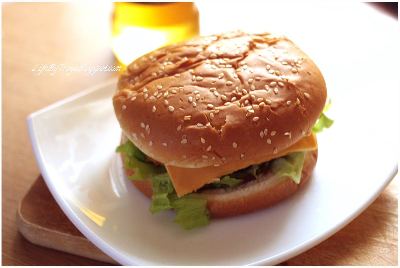 Как делают котлету для гамбургера