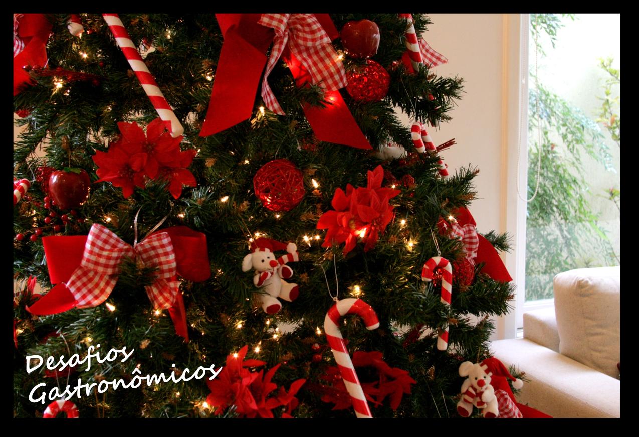 decoracao arvore de natal vermelha e dourada : decoracao arvore de natal vermelha e dourada: : DESAFIO: Decorar a casa para um Natal Vermelho e Branco