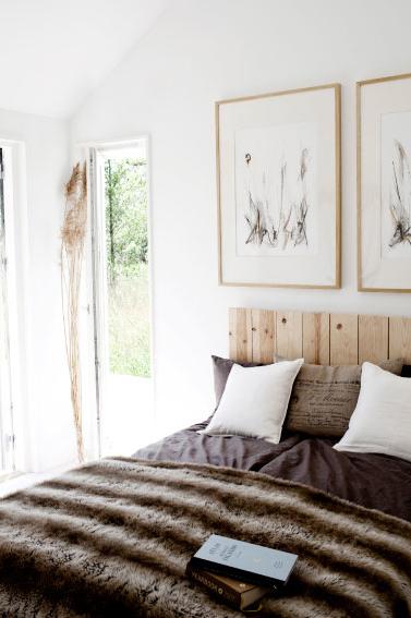 Rustic minimalist home design for Minimalist rustic bedroom