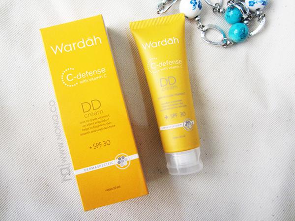 Review Wardah DD Cream C-defense with vitamin C (Natural ...