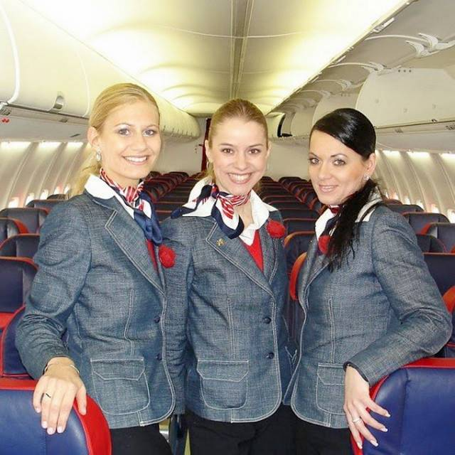 19Slovakia252CSkyEuropeAirHostess - Air Hostess From Different Countries