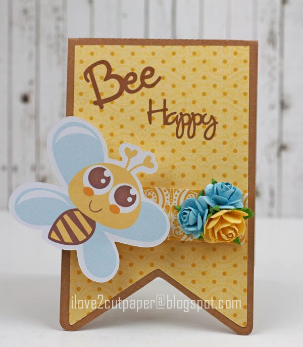 Print&Cut,bee card,pazzles,cuttingfiles