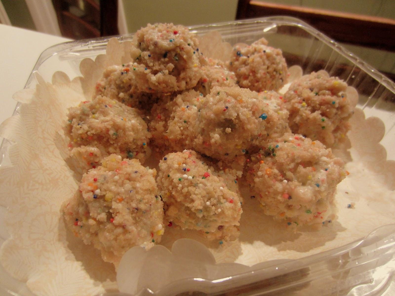 BIRTHDAY CAKE TRUFFLES - MOMOFUKU