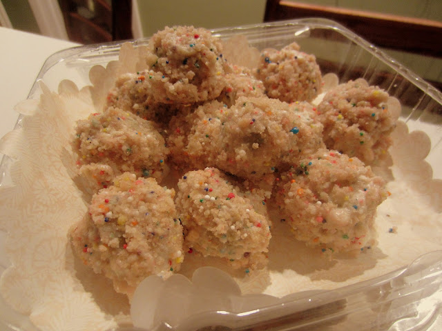 BIRTHDAY CAKE TRUFFLES MOMOFUKU STYLE