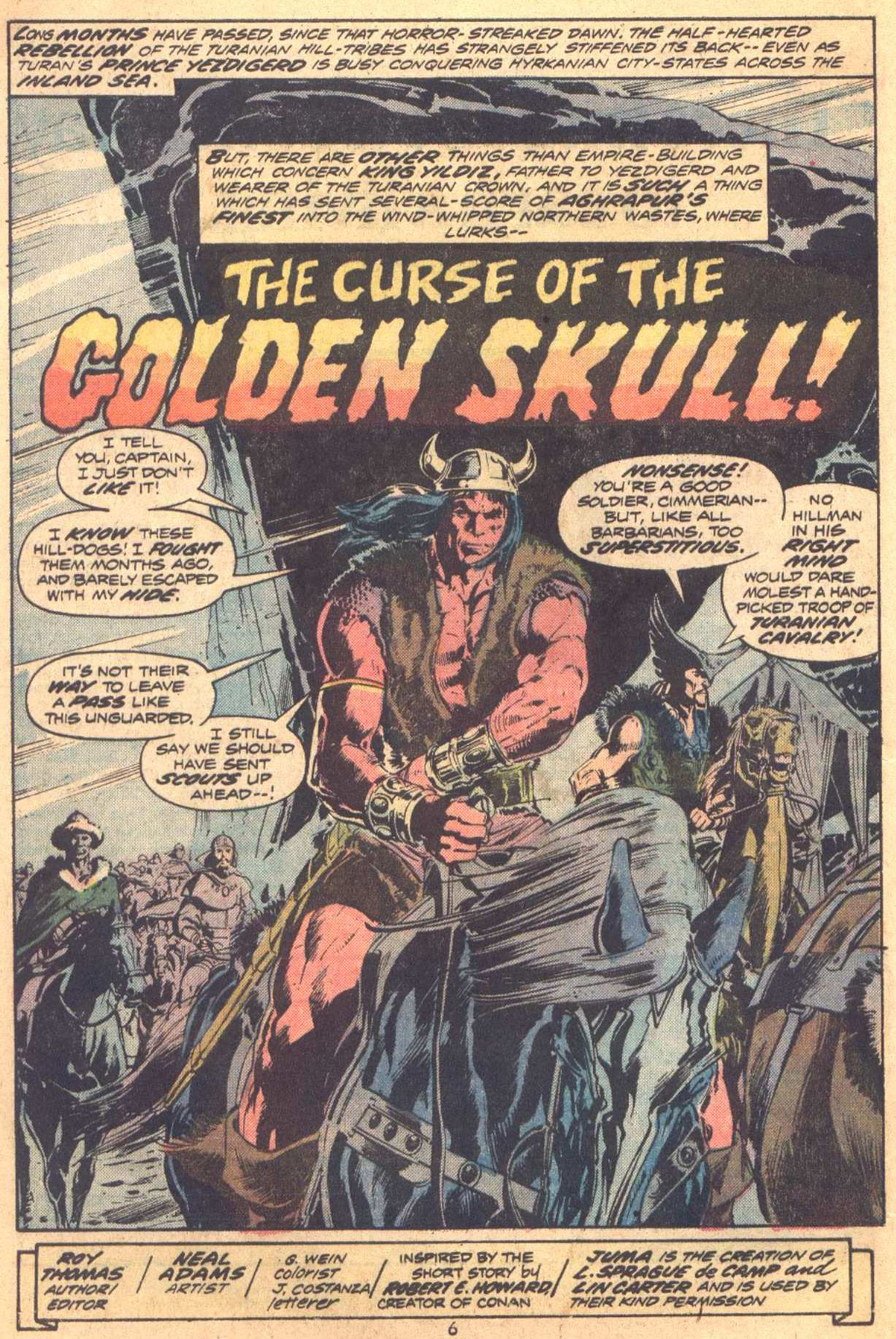 Conan the Barbarian (1970) Issue #37 #49 - English 5