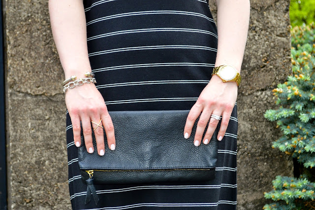 black-fold-over-clutch