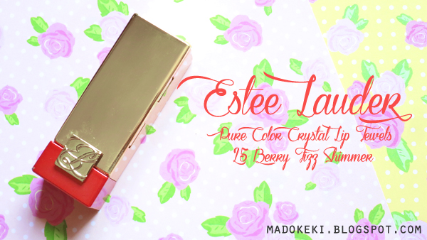 Estee Lauder Pure Color Crystal Lip Jewels 25 Berry Fizz Shimmer