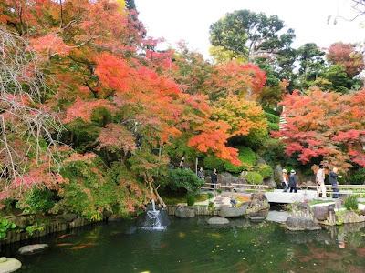 長谷寺の紅葉
