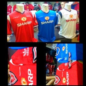 jual online jersey retro manchester united, liverpool, evertron retro, grade AAA,