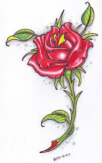 Rose Forearm Tattoos for Women