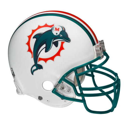 the nfl report top 10 helmet designs miami dolphins