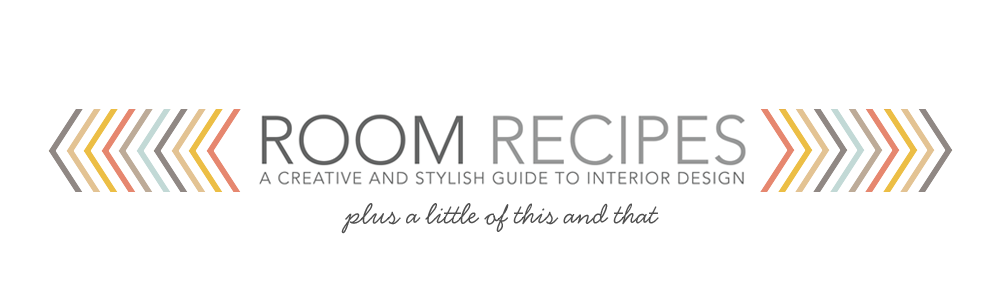 Room Recipes: A Creative, Stylish Guide to Interior Design